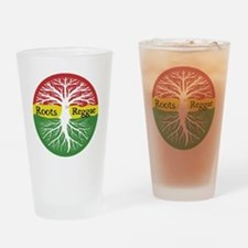 Roots Reggae Drinking Glass