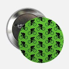 """Green Cycling Pattern. 2.25"""" Button (100 pack)"""