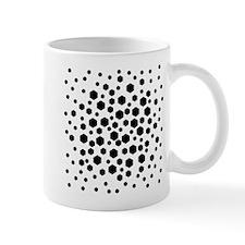Black Hexagons. Mug