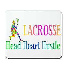 Head Hearth Hustle Lacrosse Mousepad