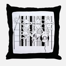 Were we Started Throw Pillow