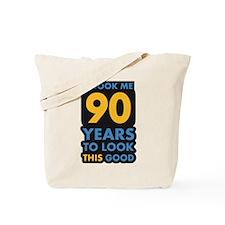 90_years Tote Bag