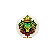 One Love Lion Mini Button