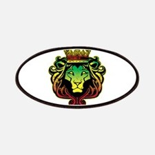 One Love Lion Patches