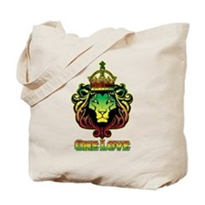 One Love Lion Tote Bag