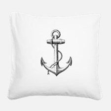 Anchor Square Canvas Pillow