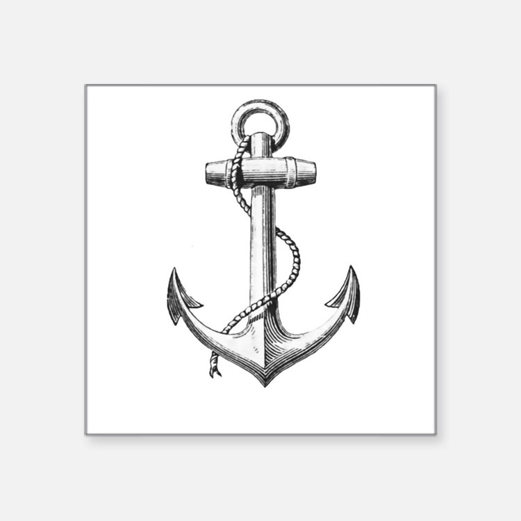 Anchor Sticker
