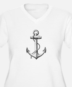 Anchor Plus Size T-Shirt
