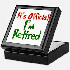 Retirement Fun! Keepsake Box