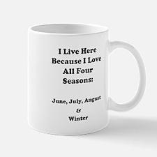 Winter Sarcasm Mug