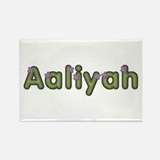 Aaliyah Spring Green Rectangle Magnet