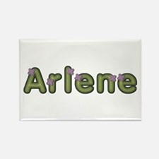 Arlene Spring Green Rectangle Magnet