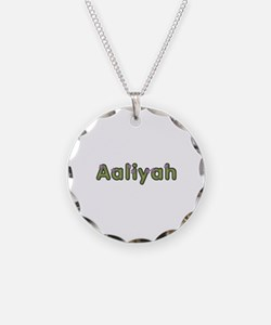 Aaliyah Spring Green Necklace