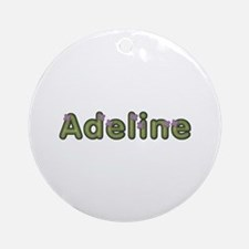Adeline Spring Green Round Ornament