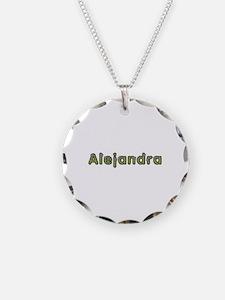 Alejandra Spring Green Necklace