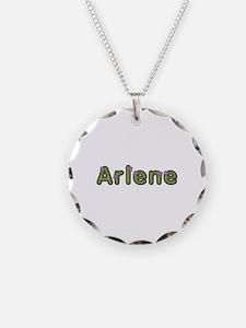 Arlene Spring Green Necklace