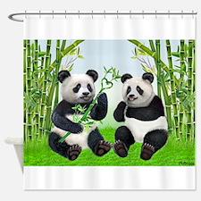 LOVING PANDAS Shower Curtain