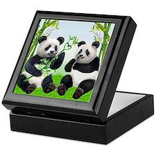 LOVING PANDAS Keepsake Box