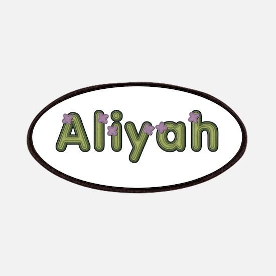 Aliyah Spring Green Patch