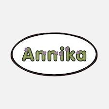 Annika Spring Green Patch