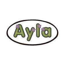Ayla Spring Green Patch
