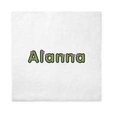 Alanna Spring Green Queen Duvet
