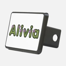 Alivia Spring Green Hitch Cover