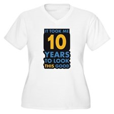 10_years Plus Size T-Shirt