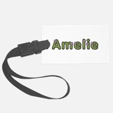 Amelie Spring Green Luggage Tag