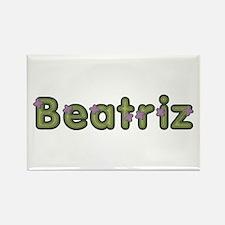 Beatriz Spring Green Rectangle Magnet