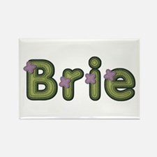 Brie Spring Green Rectangle Magnet