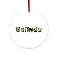 Belinda Spring Green Round Ornament