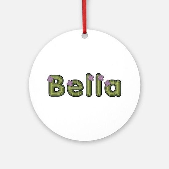 Bella Spring Green Round Ornament