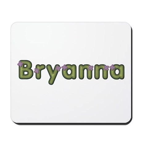 Bryanna Spring Green Mousepad