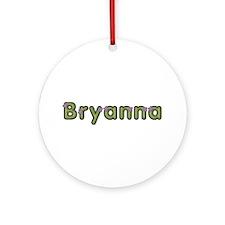 Bryanna Spring Green Round Ornament