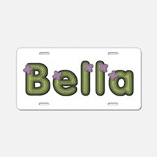 Bella Spring Green Aluminum License Plate