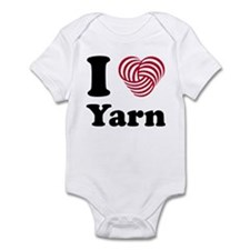 'I Heart Yarn' Infant Bodysuit