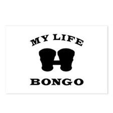 My Life Bongo Postcards (Package of 8)