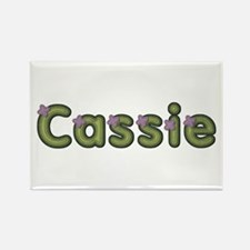 Cassie Spring Green Rectangle Magnet
