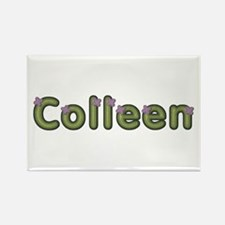 Colleen Spring Green Rectangle Magnet