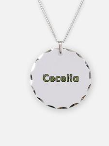 Cecelia Spring Green Necklace