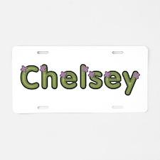 Chelsey Spring Green Aluminum License Plate
