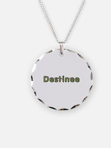Destinee Spring Green Necklace