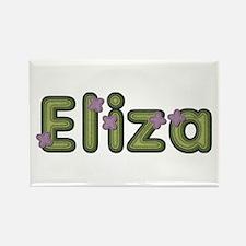 Eliza Spring Green Rectangle Magnet