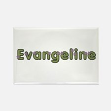 Evangeline Spring Green Rectangle Magnet