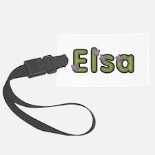 Elsa Spring Green Luggage Tag