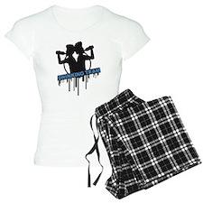 party_drinking_team_graffiti_stamp Pajamas