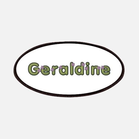 Geraldine Spring Green Patch