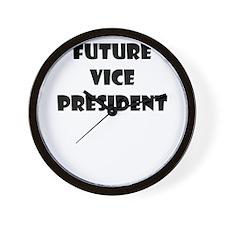 FUTURE VICE PRESIDENT Wall Clock