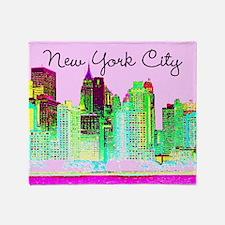 FABULOUS NYC Throw Blanket
